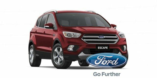 2018 Ford Escape ZG 2018.75MY Trend 2WD