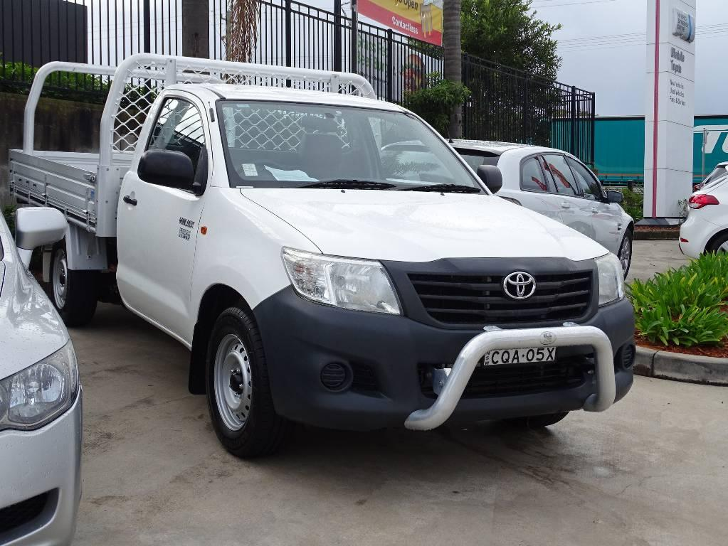 2013 Toyota Hilux TGN16R MY12 WORKMATE